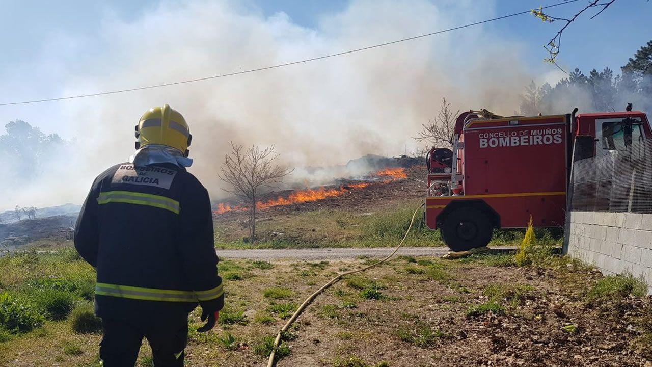 Esta semana los equipos de extinción ya trabajaron en otro incendio en Entrimo