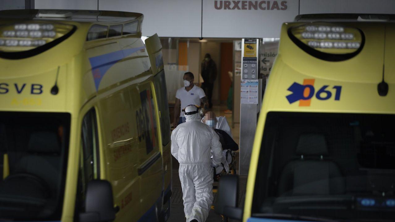 Imagen de archivo de la entrada de Urgencias del Chuac