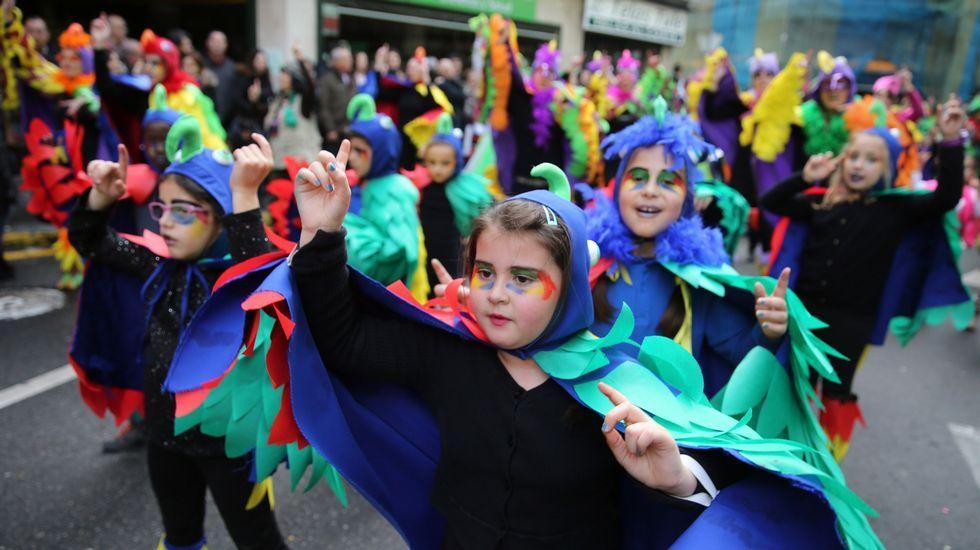 Desfile en Vilagarcía
