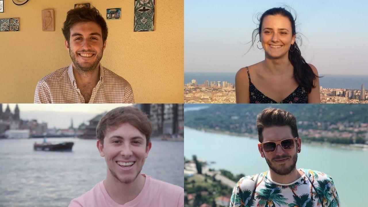 Los cuatro mejores asturianos en el MIR: Iván Sánchez, Cecilia Alonso, Borja González y Daniel Álvarez