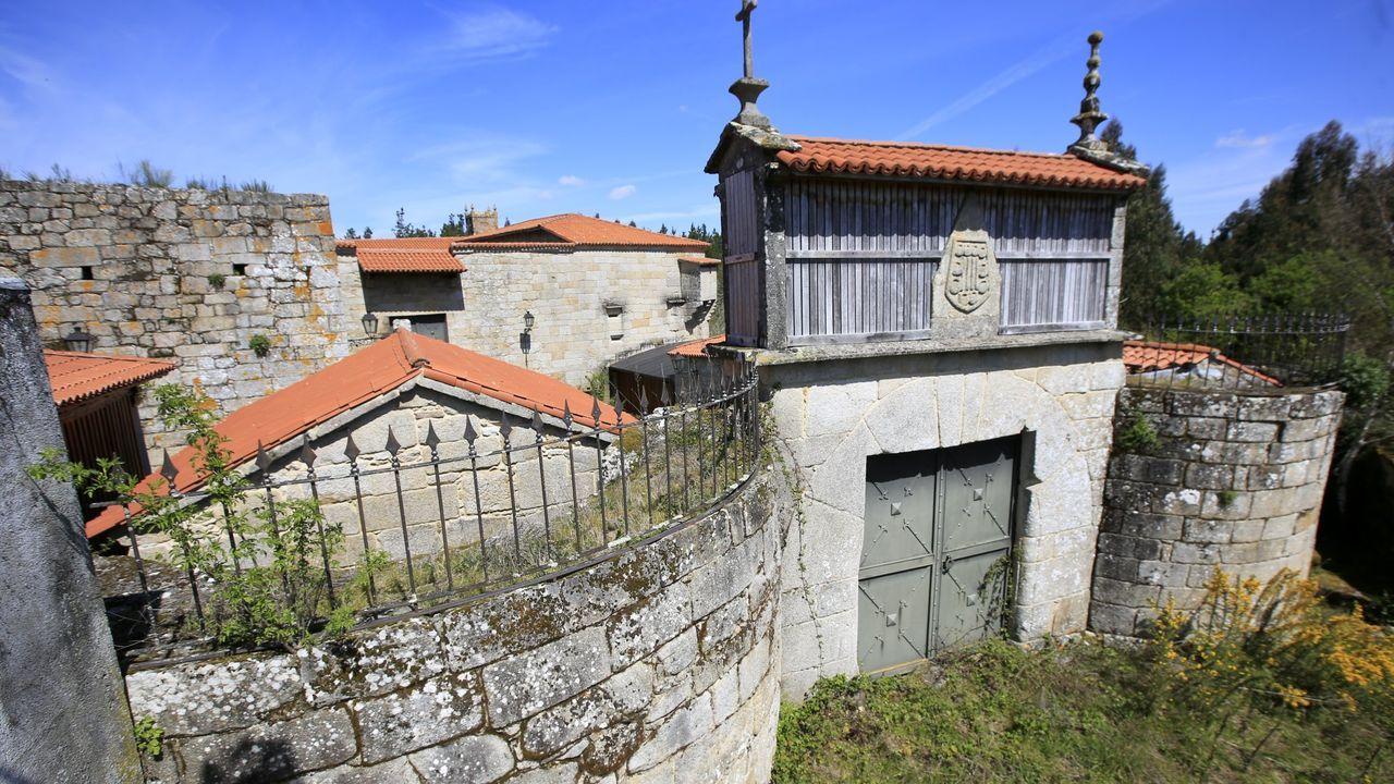 El Castillo-Fortaleza de Amarante es del siglo XI-XV y está construido sobre un castro