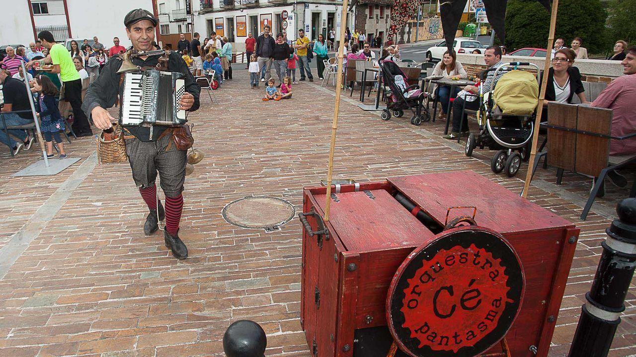 Cé Orquestra Pantasma, en una actuación en Lugo (imagen de archivo)