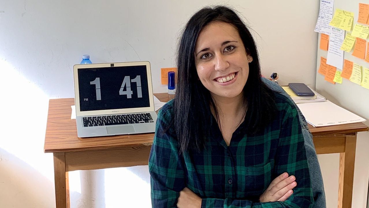 Cynthia López Novo, premio fin de carrera de Veterinaria