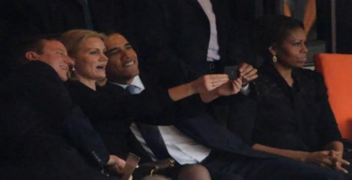 La foto que desató los celos de Michelle Obama.Michelle Obama durante un acto hoy en la Casa Blanca