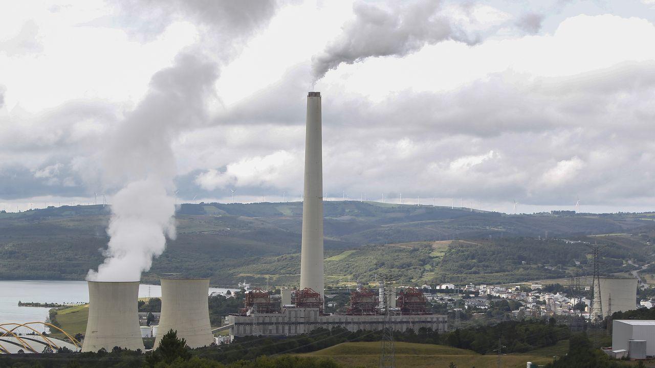 La central térmica de As Pontes es de las de mayor capacidad del país