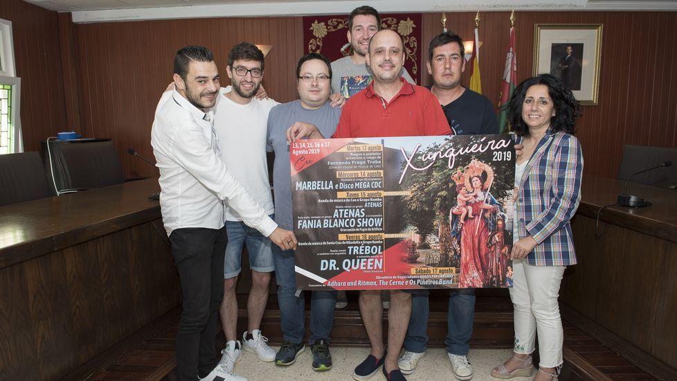 San Cristovo en Cee: procesión motorizada y premios. ¡Las imágenes!