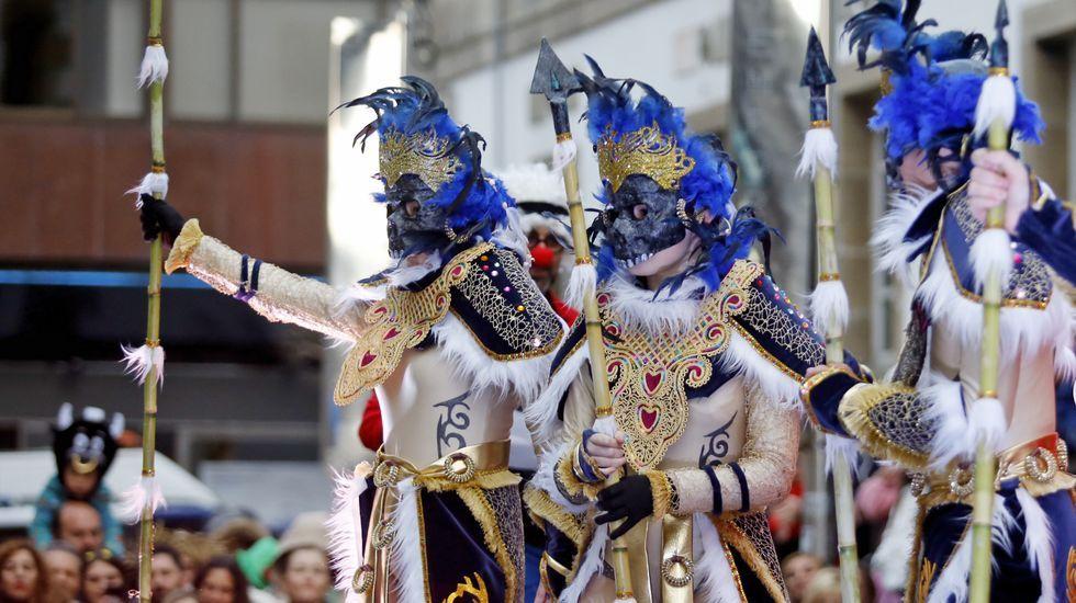 Desfile en Vigo