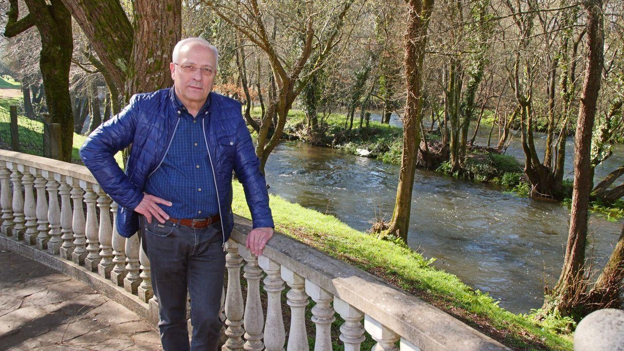 Manuel Miras, alcalde de Oroso