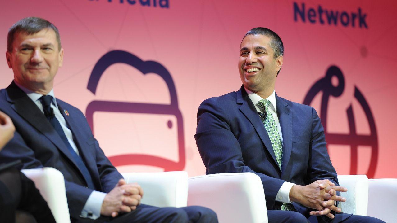 Asómate al mundo ciberfísico de las máquinas y los hogares conectados.Aljit Pai, a la derecha, y Andrus Ansip