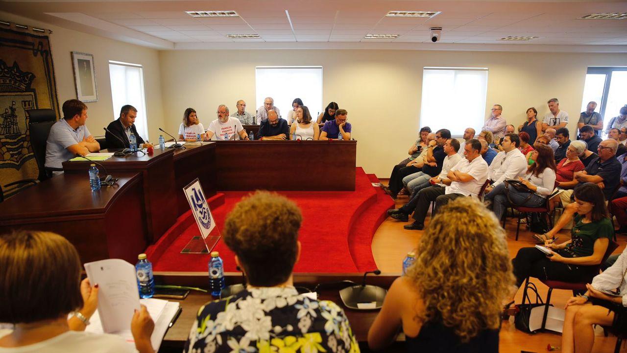 Homenaxe a Alexandre Bóveda, en imáxenes.Pleno extraordinario en Sada para reclamar el paso del Pazo de Meirás al patrimonio público