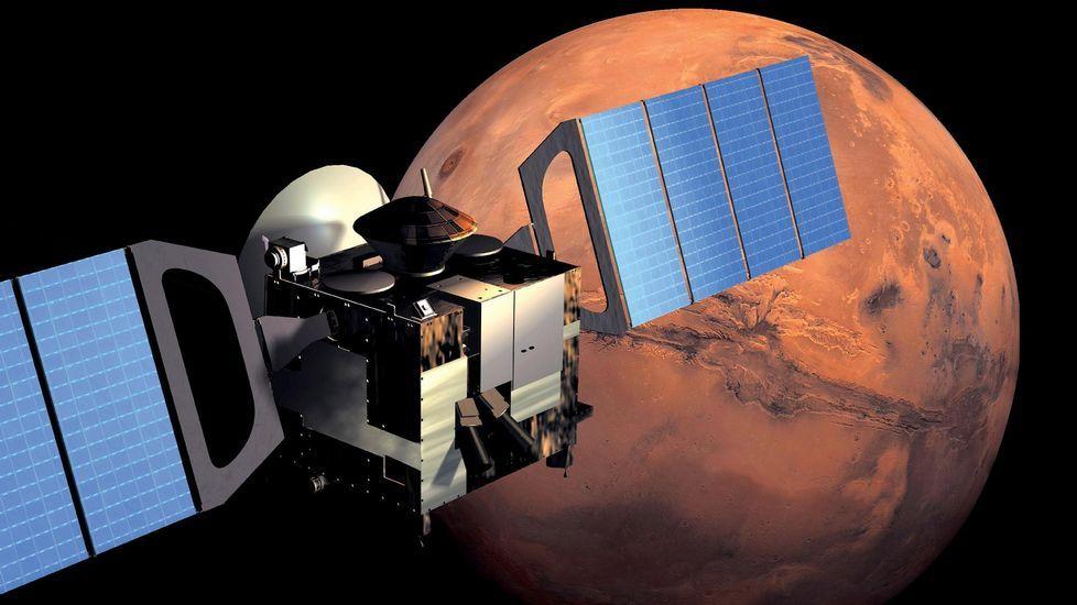 El «Curiosity» registra una panorámica de 360 grados de un campo de dunas en Marte
