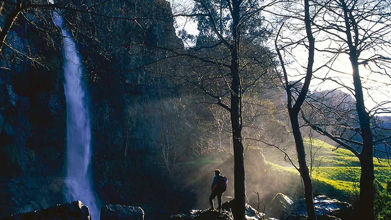 Asturias, de cascada en cascada.Cascada del Cioyo en Castropol