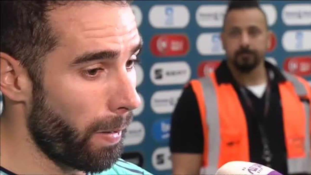 Carvajal defiende el formato de la Supercopa y responde a Valverde: «Si no está de acuerdo que ponga una queja».José Joaquín Brotons