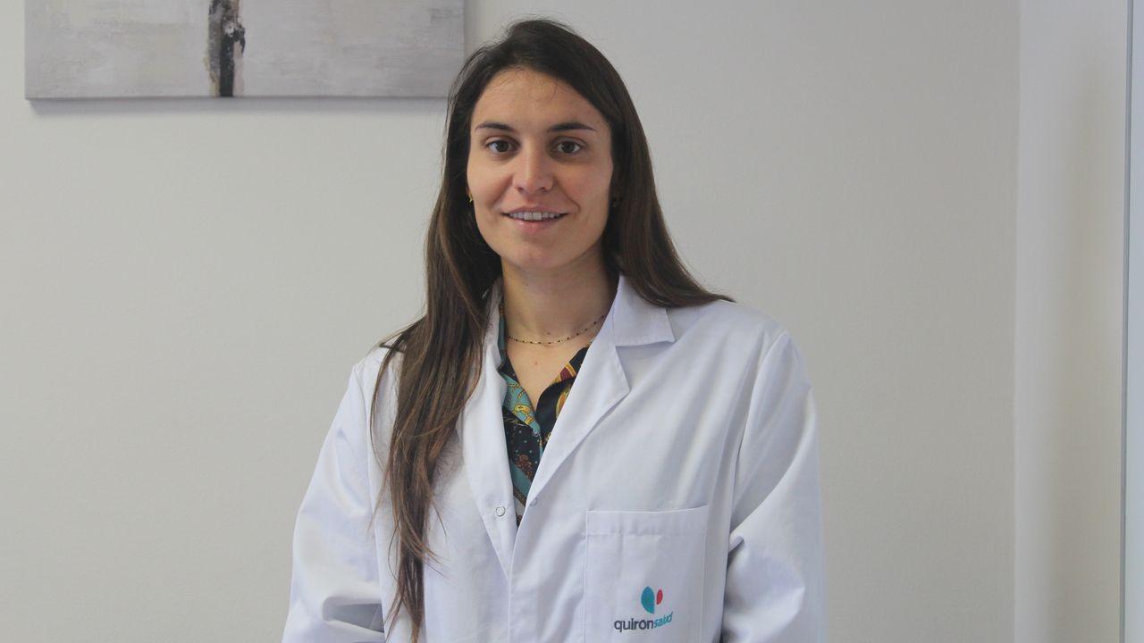 María Jesús Suárez Valladares es dermatóloga en en el Hospital Quirónsalud de A Coruña