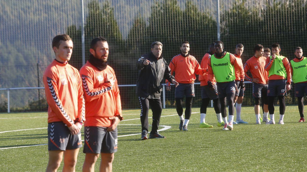 Galicia busca protagonismo en la Liga.Hugo Vallejo ha sido el último refuerzo del Deportivo