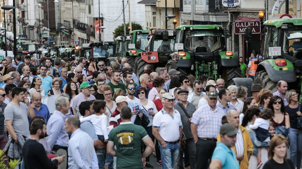 ¿En qué se fija cuando compra un litro de leche?.Protestas del sector lácteo en Sarria