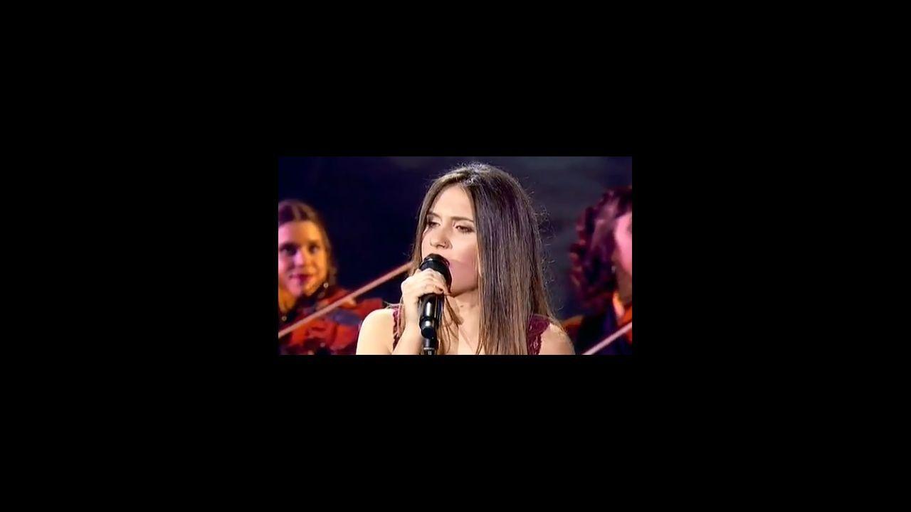 «Son moi bailadora».Cartel de «¡Actuemos!», concierto nacional contra la violencia de género
