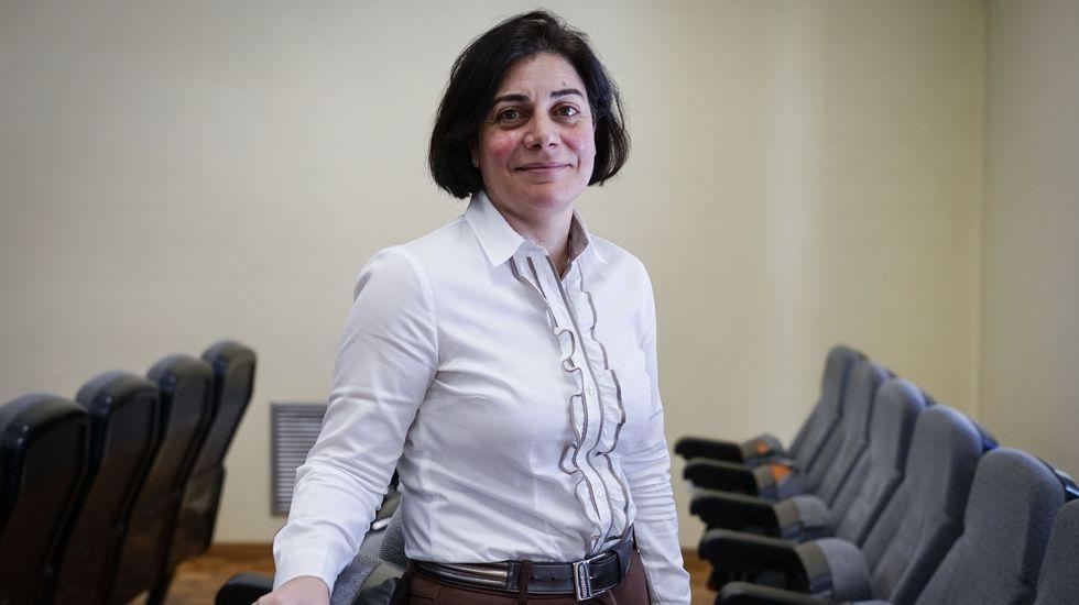 Ana Isabel González es la jefa del servicio de Alertas Epidemiológicas en Ourense