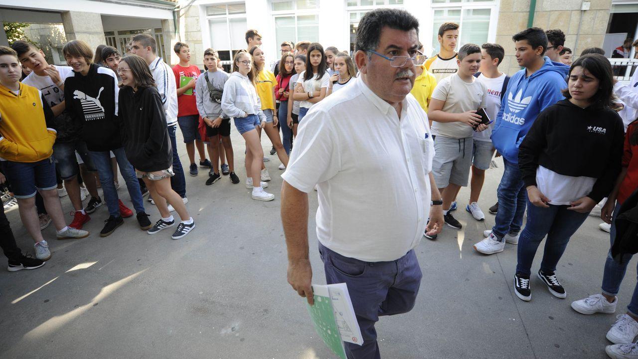 Polos miradoiros da provincia de Ourense.La vacunación se traslada al Paco Paz