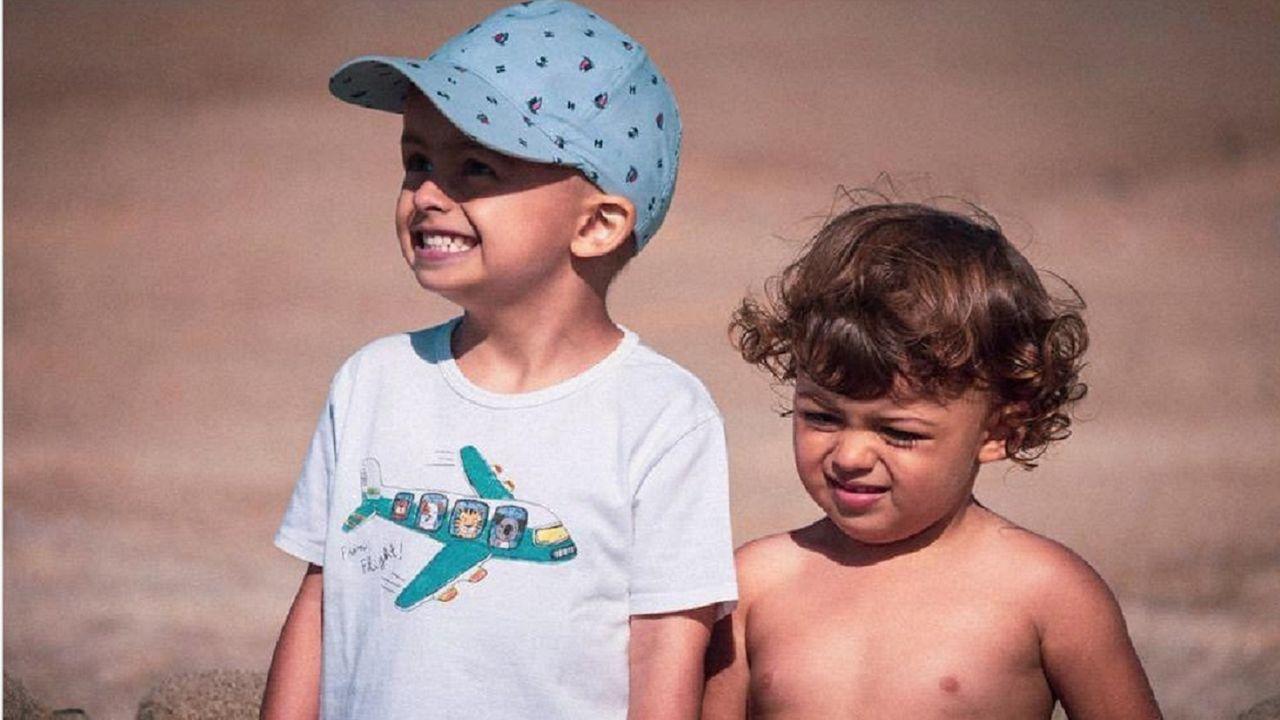 Miguel y Ana, su hermana