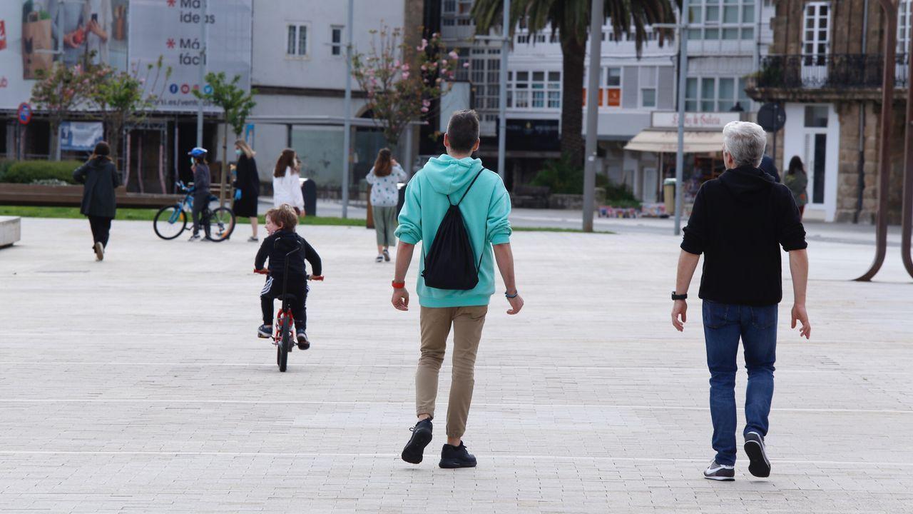 Paseo de tarde en A Coruña