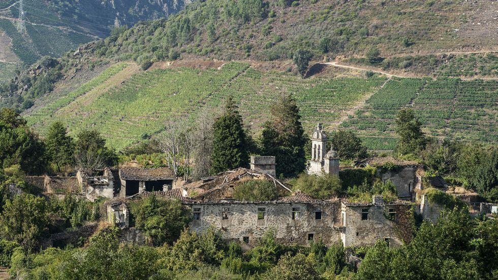 El monasterio de San Paio fue uno de los más importantes de la Ribeira Sacra