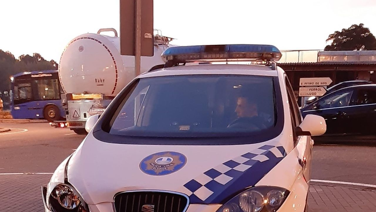 Imagen de archivo de la Policía Local de Oleiros