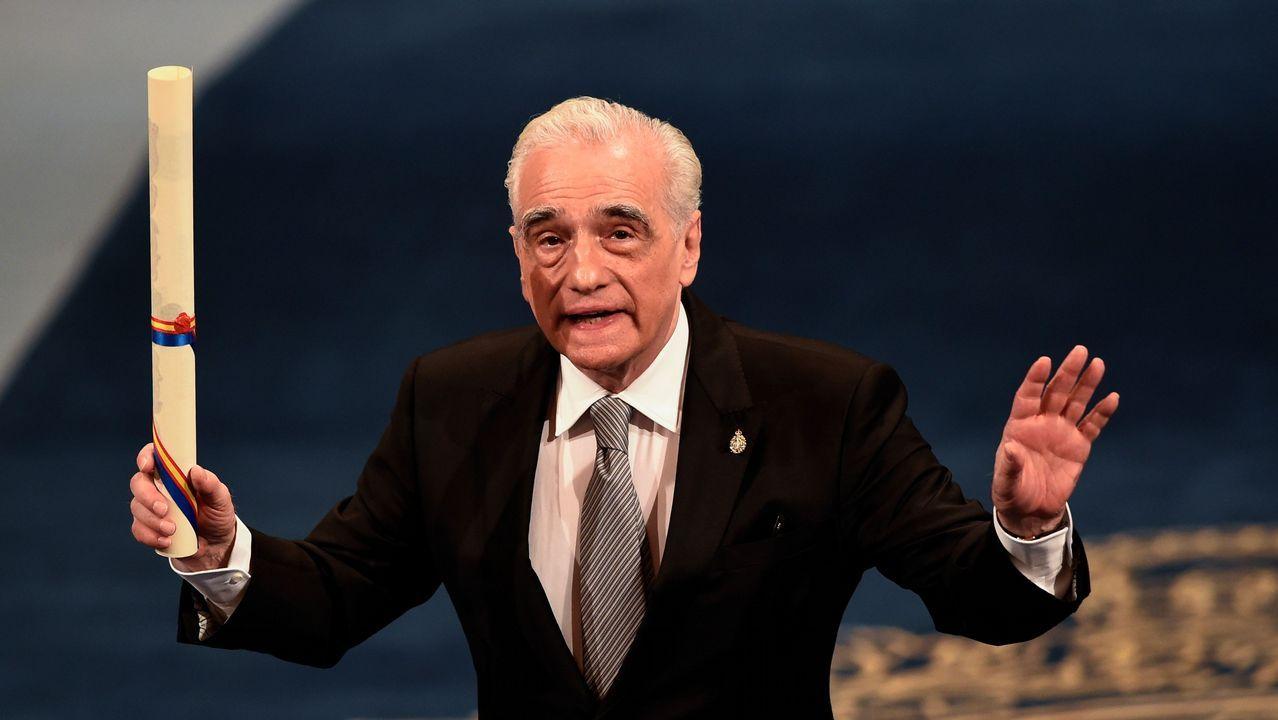 Martin Scorsese en la ceremonia de entrega de los Premios Princesa de Asturias 2018.