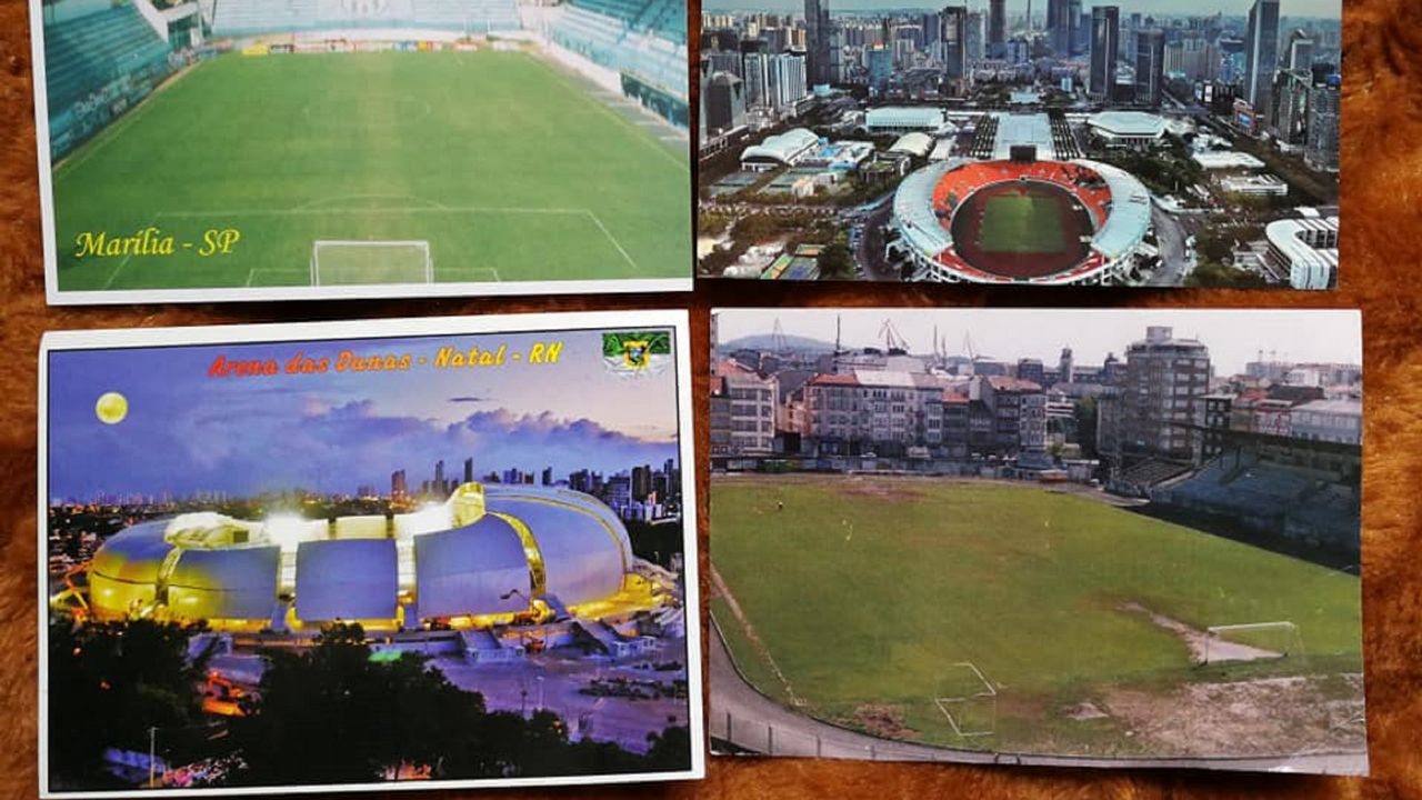 El Manuel Rivera, con otros estadios de su colección