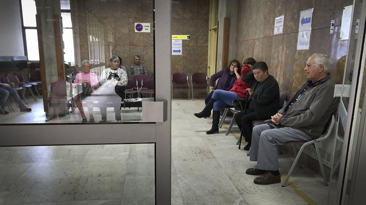 Imagen de archivo de la sala de espera de un hospital de Viana do Castelo