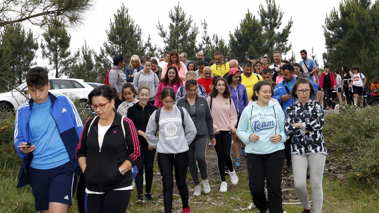 ¡Búscate en la andaina solidaria de Congalsa por la sierra del Barbanza!