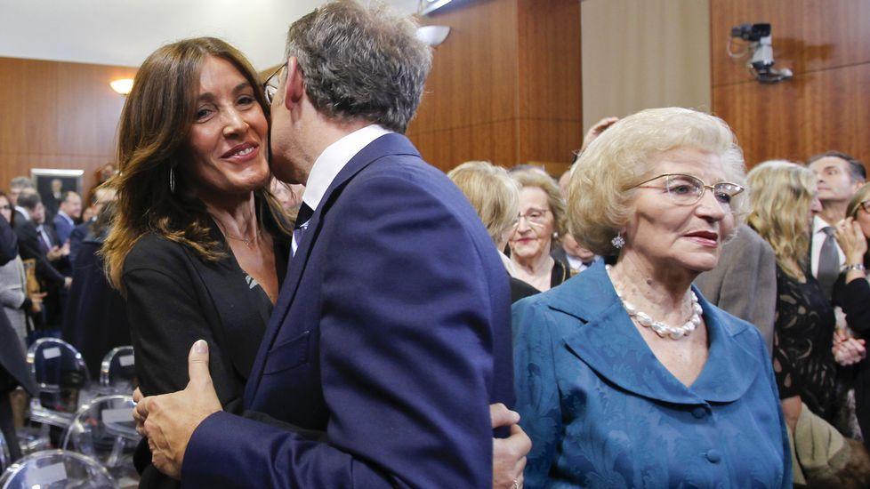 La cara B de la toma de posesión.José Ignacio Ceniceros. La Rioja. El presidente del Gobierno de La Rioja se impuso 109 votos a Gamarra, alcaldesa de Logroño.