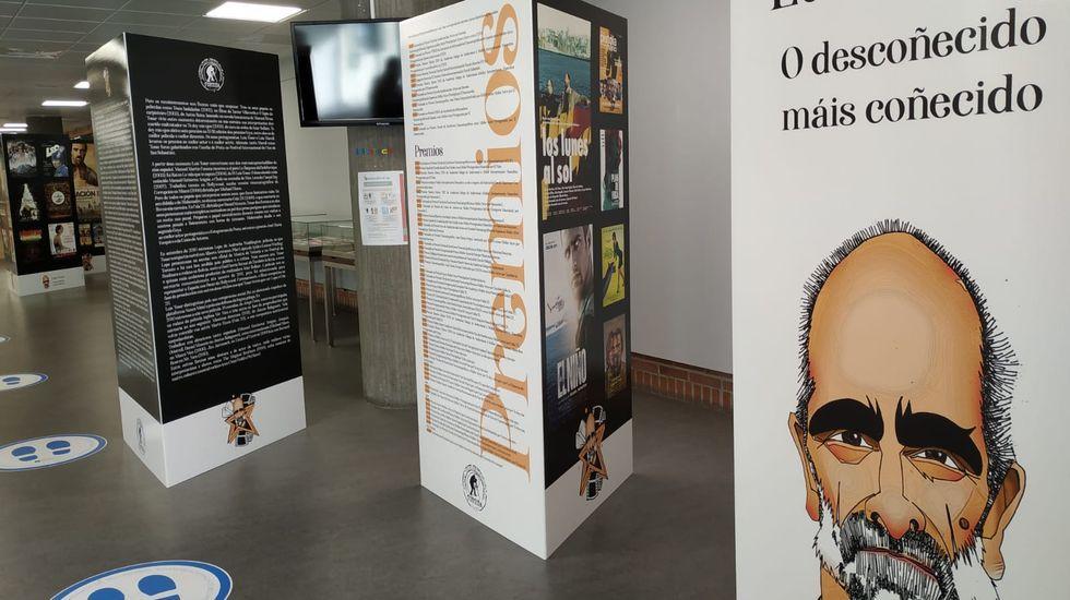 Exposición sobre Luis Tosar en la Biblioteca Provincial
