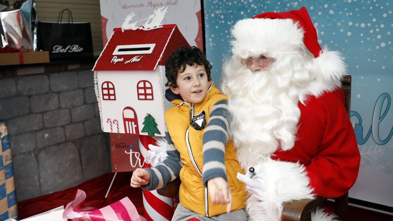Imagen de archivo de Papá Noel en A Mariña