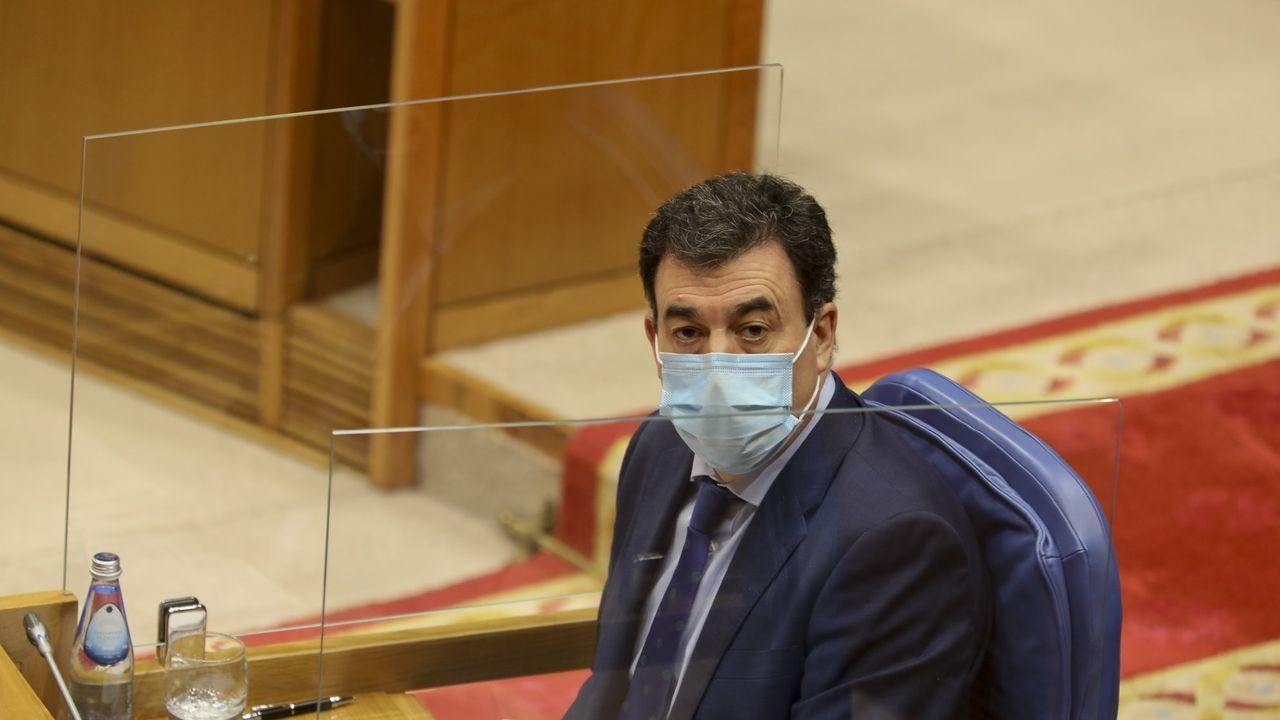 El presidente del Gobierno, Pedro Sánchez, este miércoles, durante el pleno del Congreso de los Diputados
