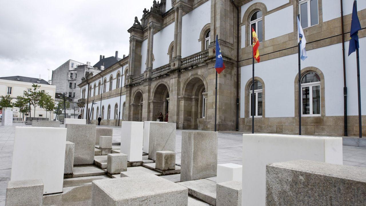 La app  Lugo Cambia 360  permite acercarse a lugares como el Mirador do Duque, en la Ribeira Sacra