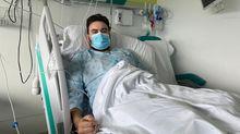 Con 34 años y sin patologías previas, Jacobo Rodicio se recupera tras pasar por la uci