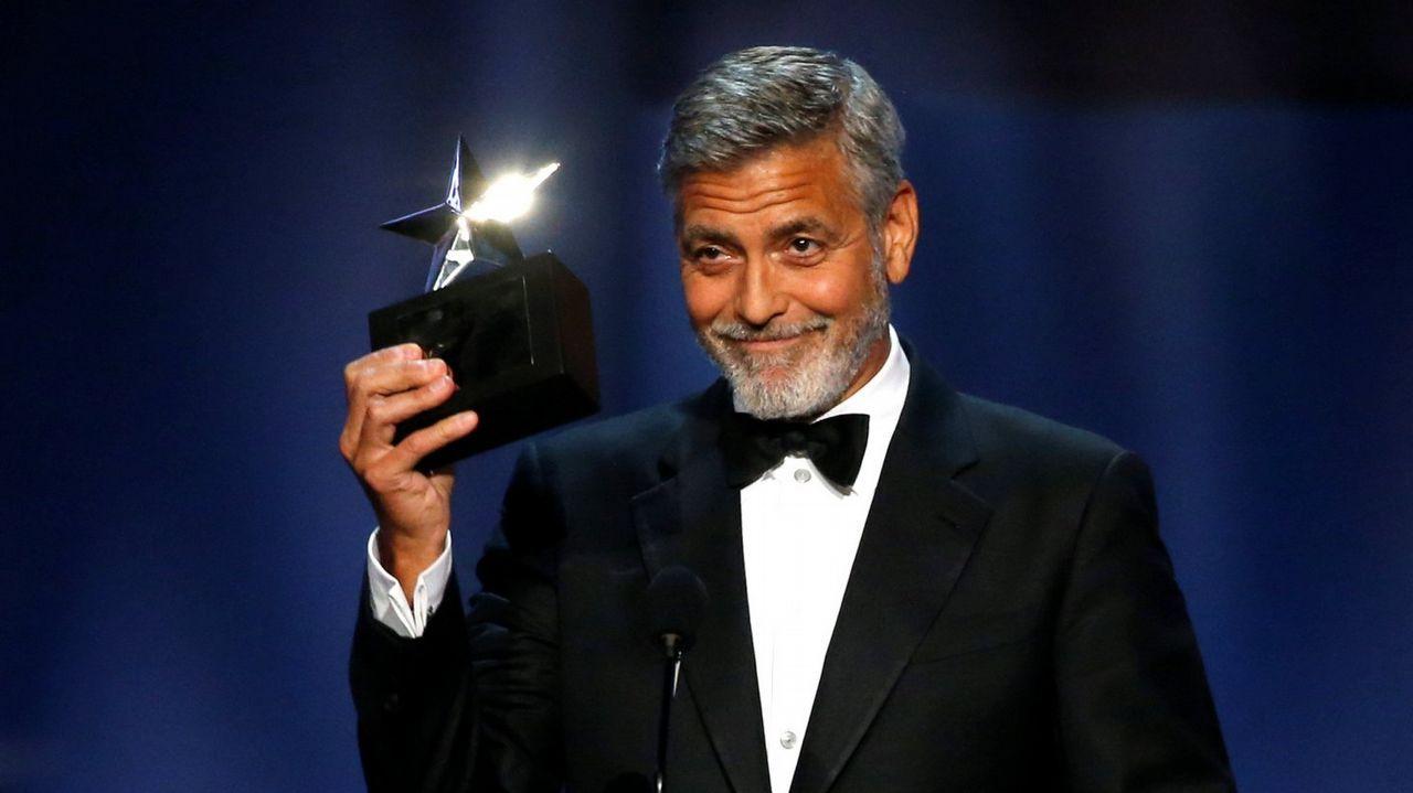 Así ocurrió el accidente de George Clooney.Amal y George, en la boda de Meghan Markle y el príncipe Enrique