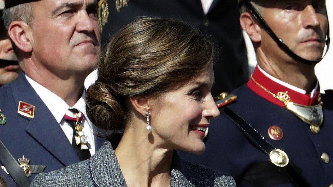 La reina Letizia en el 2017