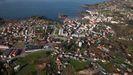 Vista aérea de Santa Cruz (Oleiros)