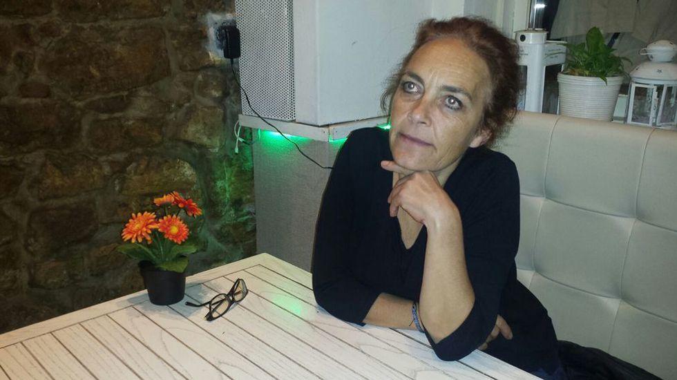 Los discursos del rey.Celeste Intriago, presidenta de la Coordinadora Asturiana de ONGD