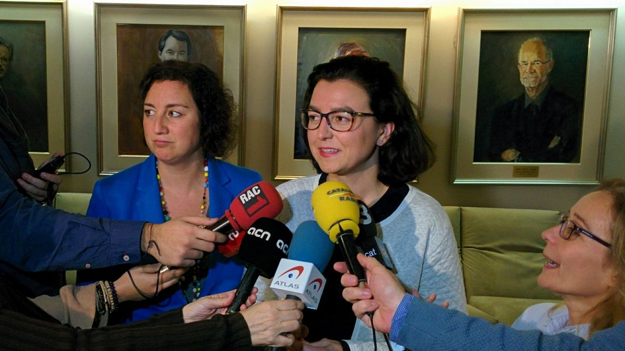 Eva Granados (PSC). Ejercerá la portavocía y podría ser la candidata a la Generalitat.
