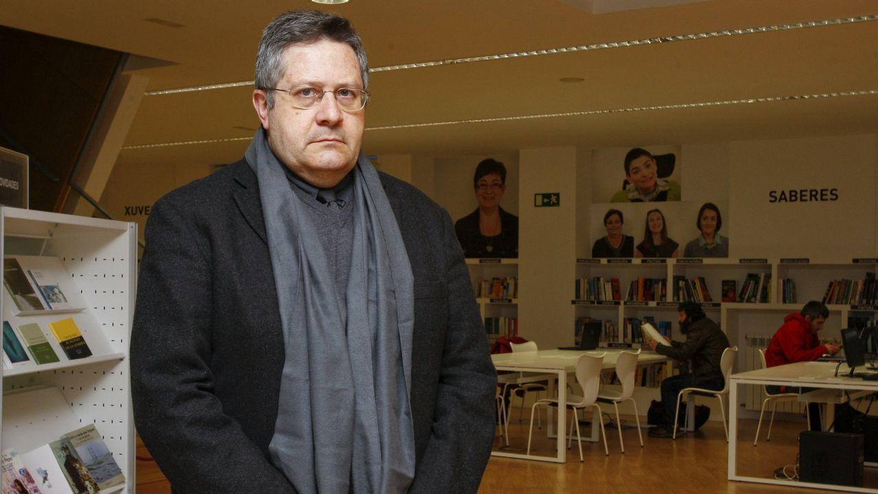 Manuel Blanco Desar, autor del libro «Galicia: un pobo con futuro»