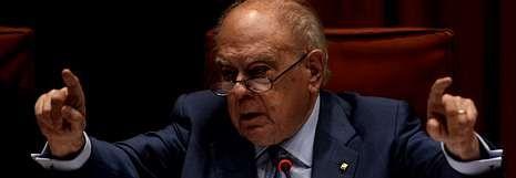 Jordi Pujol, el pasado viernes durante su comparecencia ante la comisión de Asuntos Institucionales del Parlamento catalán.
