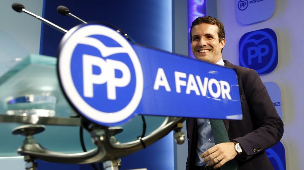 Al PP no le consta el powerpoint sobre financiación ilegal.El empresario Jacobo Gordon, a su llegada a la Audiencia Nacional
