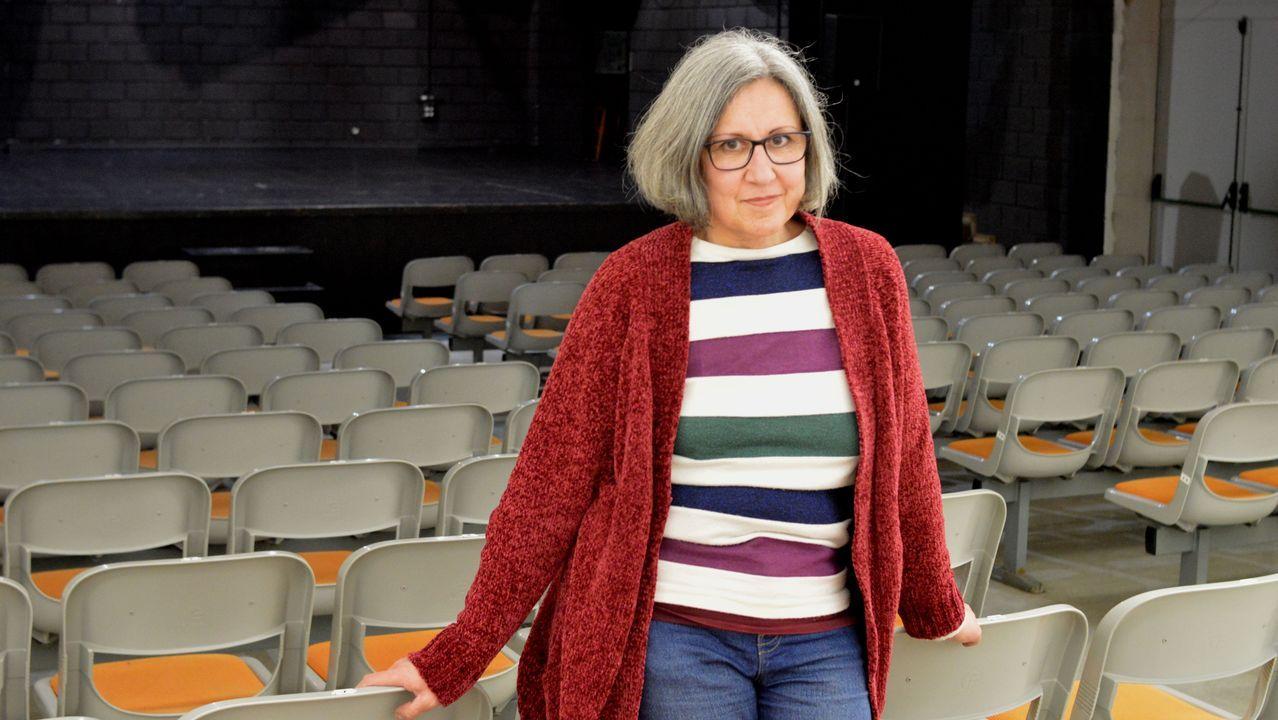 A actriz, directora e docente teatral Flor Maceiras