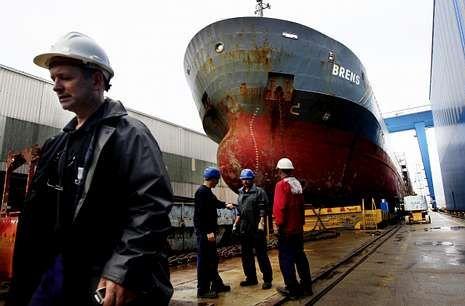 Freire, en Vigo, es uno de los pocos astilleros que ha conseguido contratar este año.