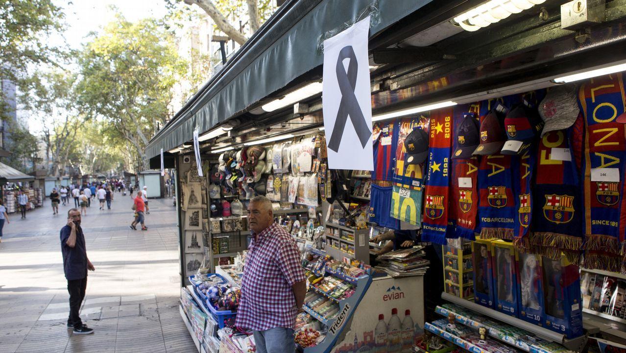 Kiosco de la Rambla en Barcelona