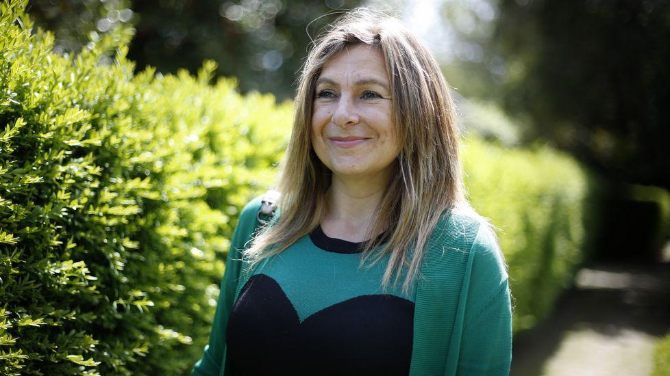 Gey Lagar, asturiana, es experta en atención a la diversidad en el aula
