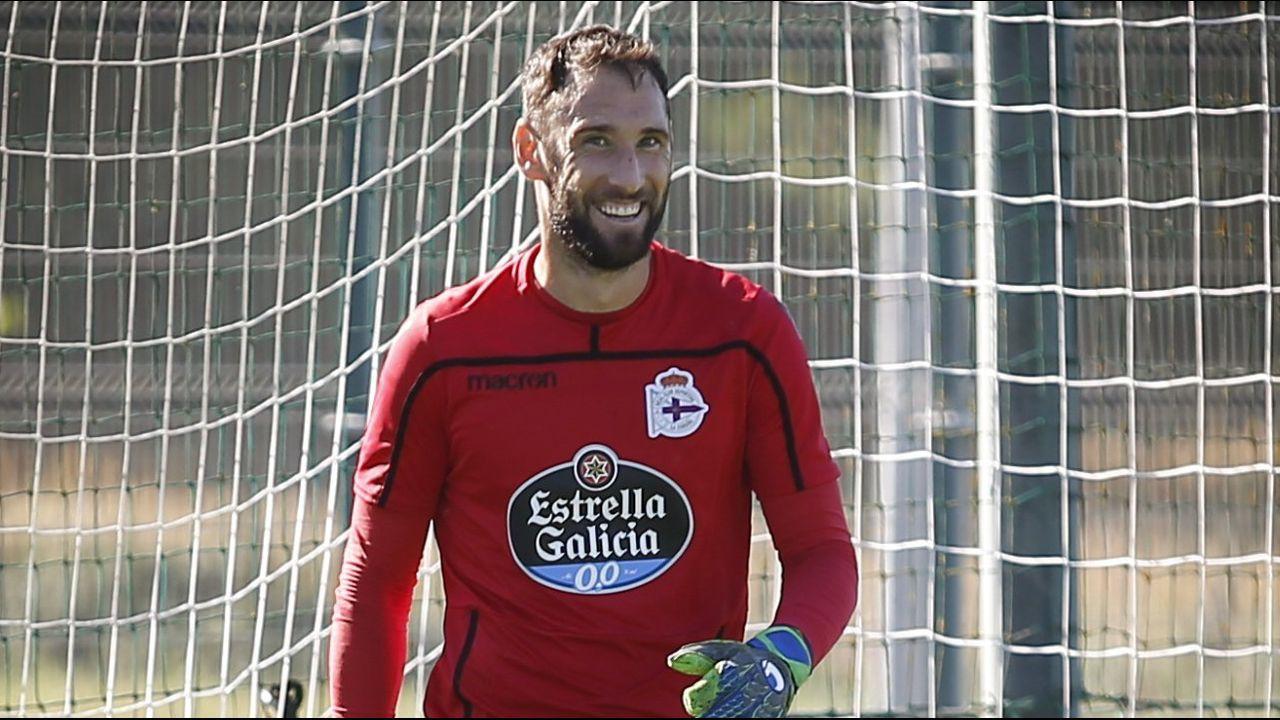 Paco Zas vivió en el palco de Son Moix su primer gran revés como presidente del Deportivo.